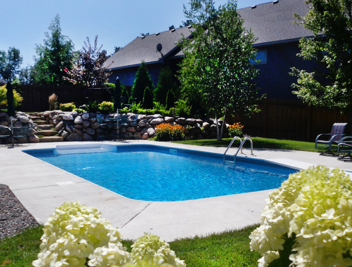 In Ground Pools | Nassau Pools and Spas